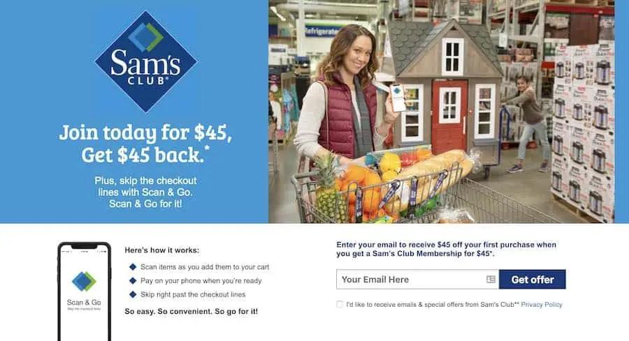 Sams Club Membership Discount