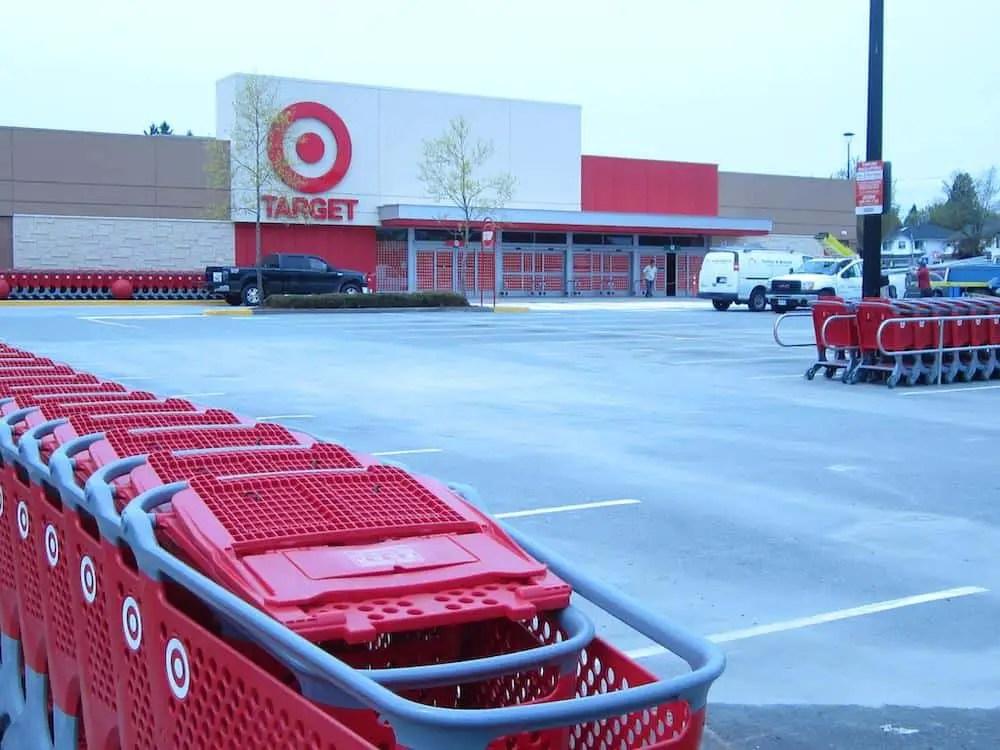 Target Store Shopping
