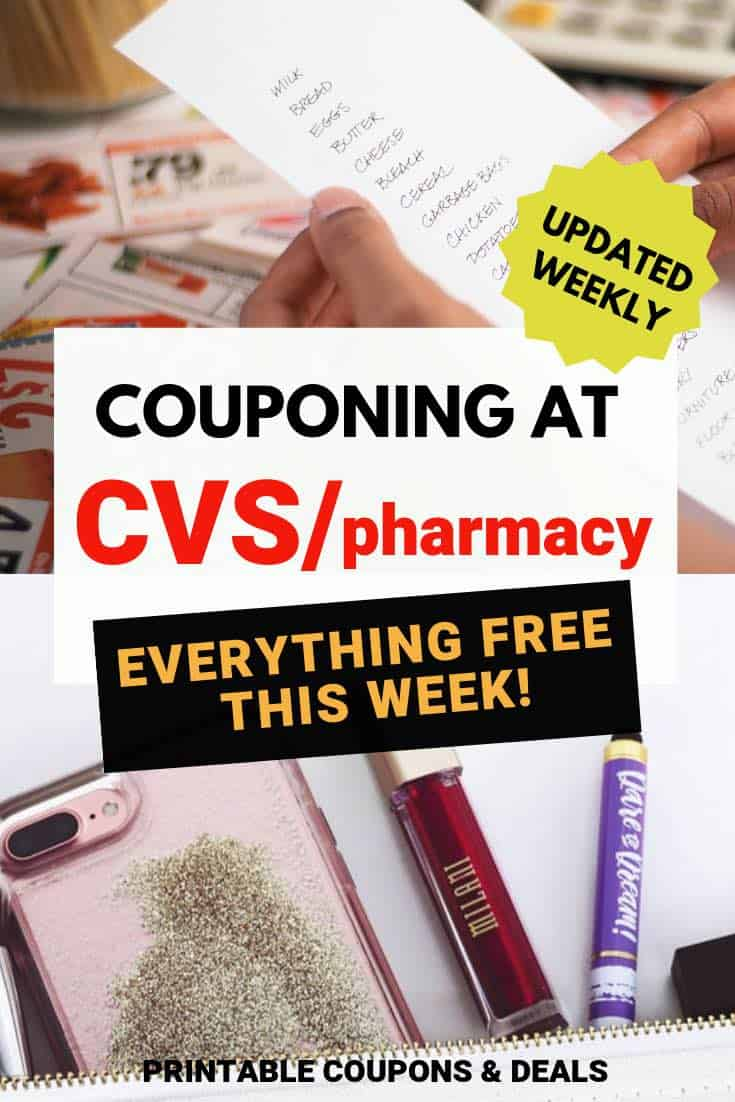 Couponing at CVS