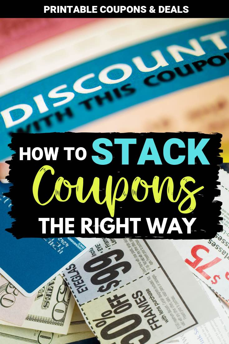 How to Stack Coupons Pin