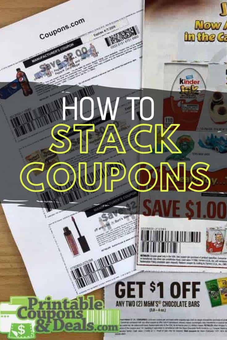 How to Stack Coupons the right way