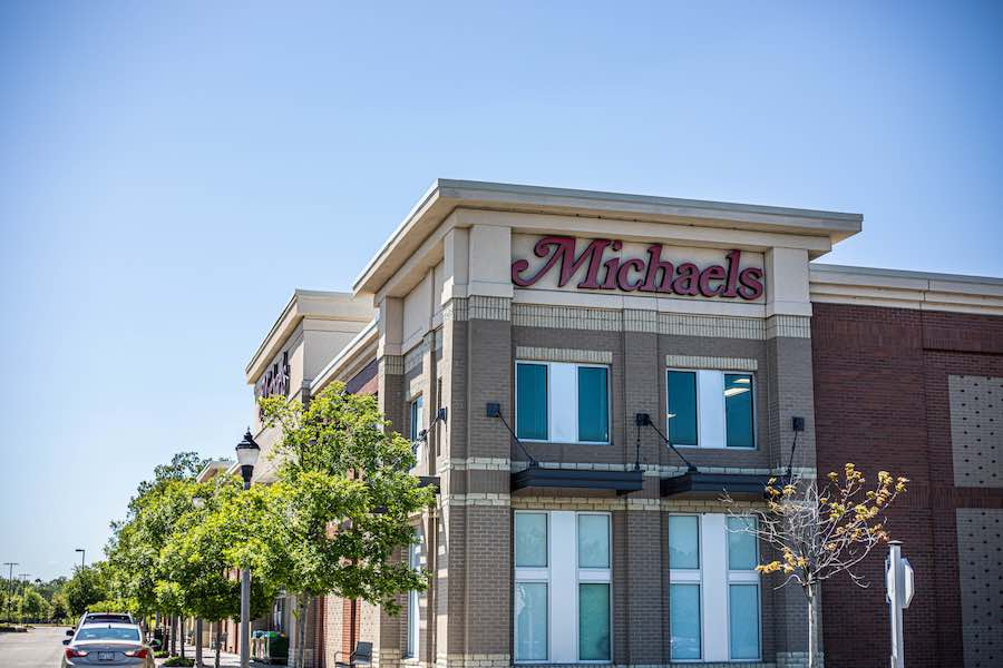 Michaels Store Front - coupon use