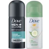 FREE Sample of Dove Dry Spray Antiperspirant!