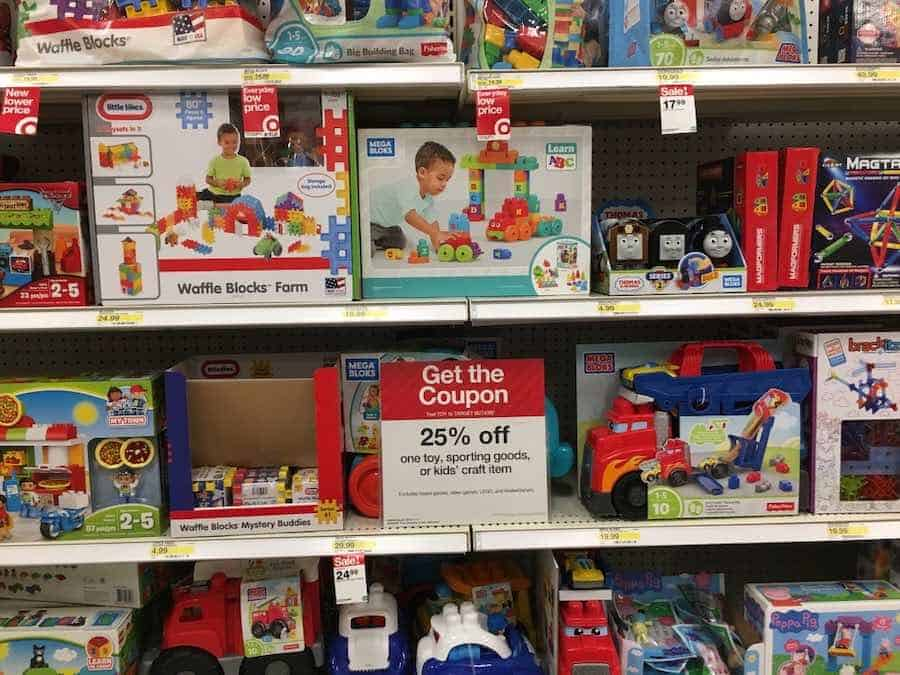 Target Toys Coupons can you return