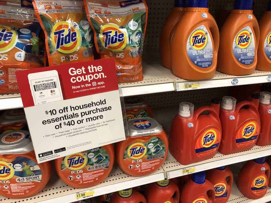 Target in store Tide
