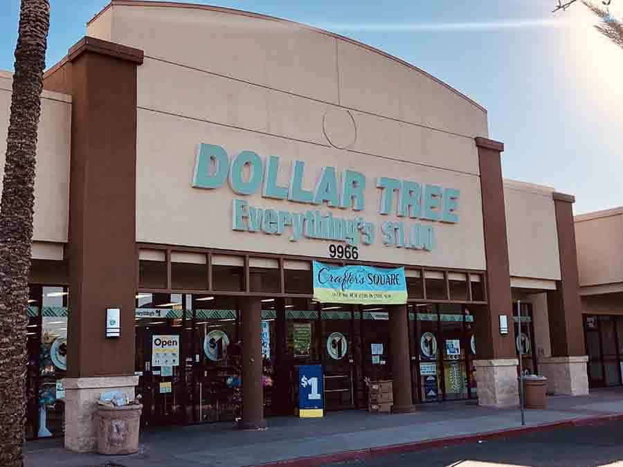 Dollar Tree Store Front