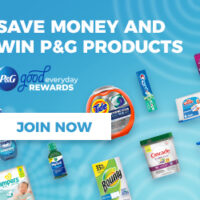 Win Free P&G Product And Earn Big Rewards with P&G Good Everyday!