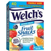 Welch's Fruit Snacks 40-CT Box Only $6.63 Shipped at Amazon!
