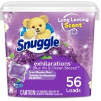 Snuggle Scent Boosters Laundry Scent Pacs 56-Count Only $5.62 Shipped at Amazon!