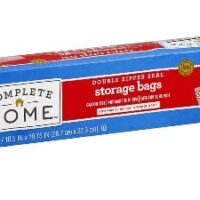 Complete Home Resealable Storage Bags Only $0.93 Each at Walgreens!