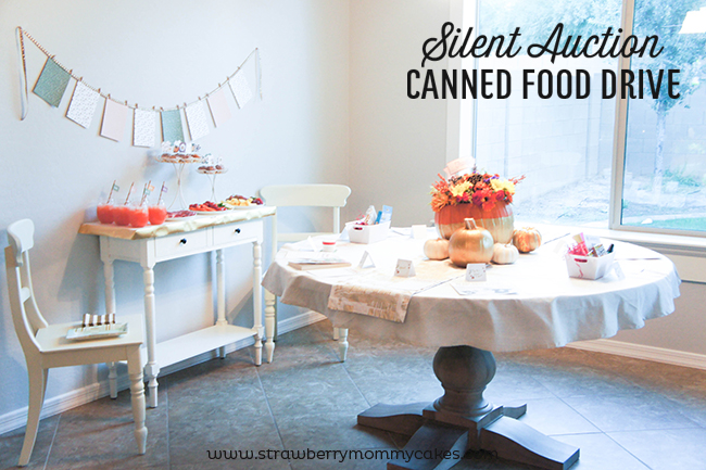 Give Extra with a Canned Food Silent Auction!