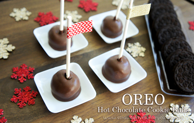 OREO Hot Chocolate Cookie Balls