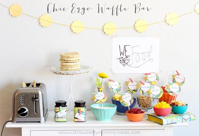 Chic Eggo Waffle Bar