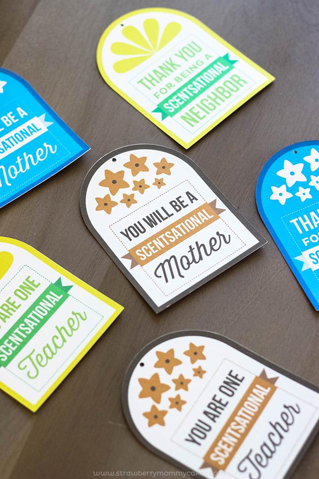 Softsoap Printable Gift Tags
