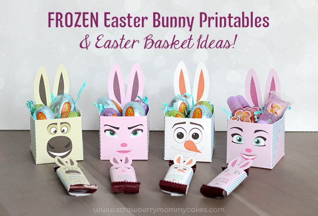 FROZEN Easter Bunny Printables