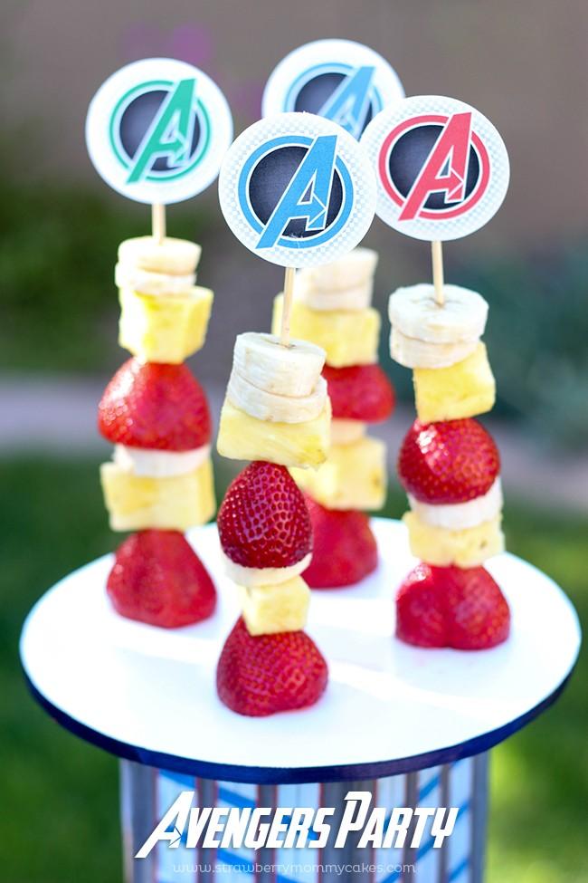 Avengers Marathon Party