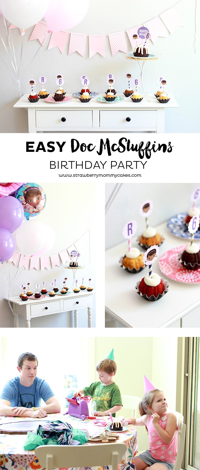 Easy Doc McStuffins Birthday Party