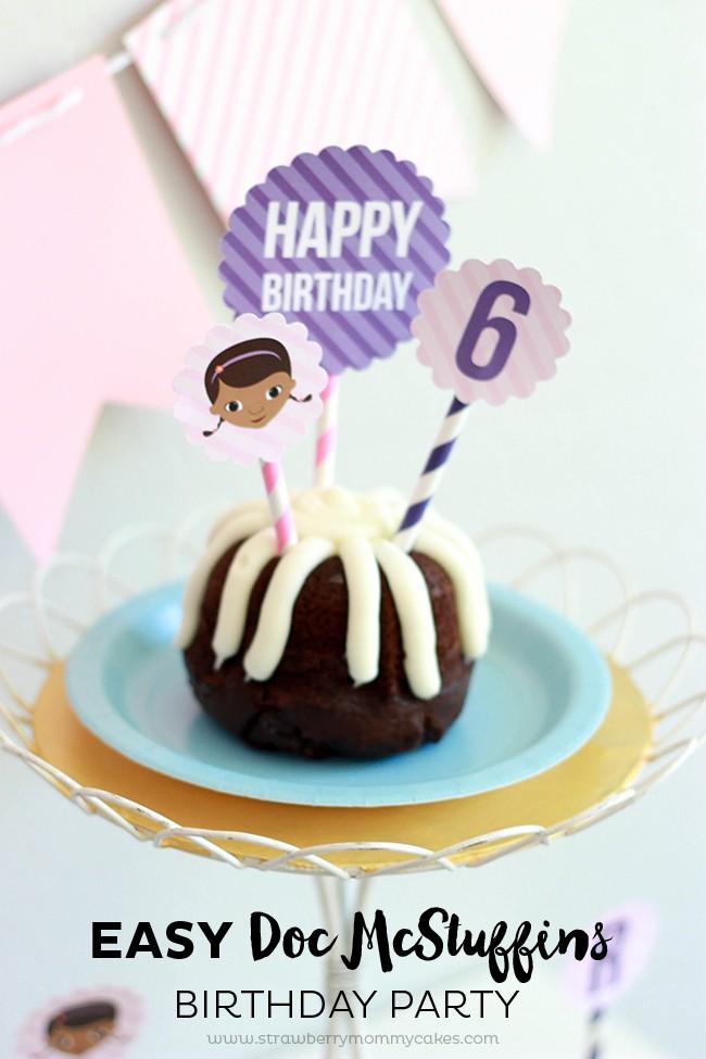 Easy Doc McStuffins Birthday Party