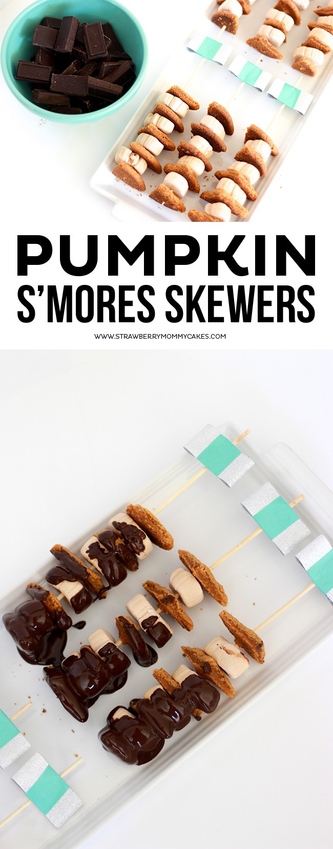 Celebrate the Holidays with Pumpkin S'mores Skewers