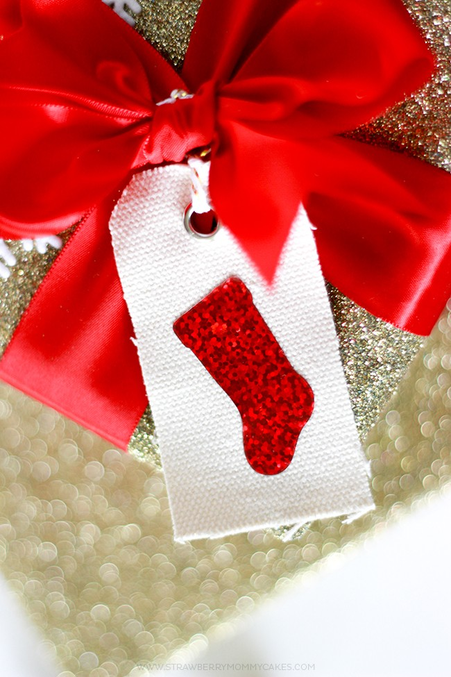 Pretty and Sparkly Gift Tags made with Expressions Vinyl HTV