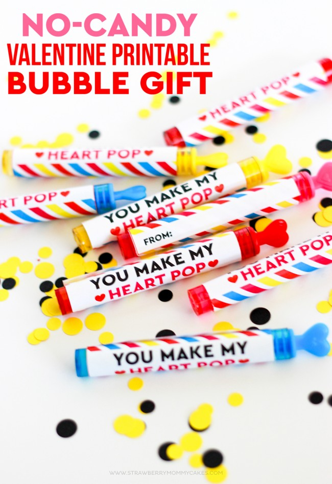 picture relating to Bubble Valentine Printable identified as No-Sweet Valentine Printable Bubble Reward - Printable Crush