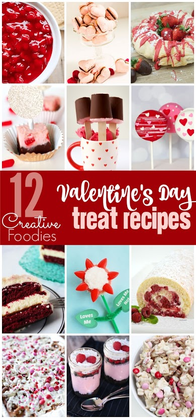 12 Yummy Valentine's Day Treat Recipes
