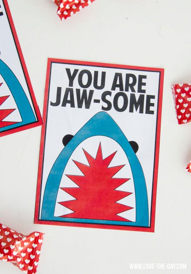 23 Creative and FREE Valentine Printables on strawberrymommycakes.com