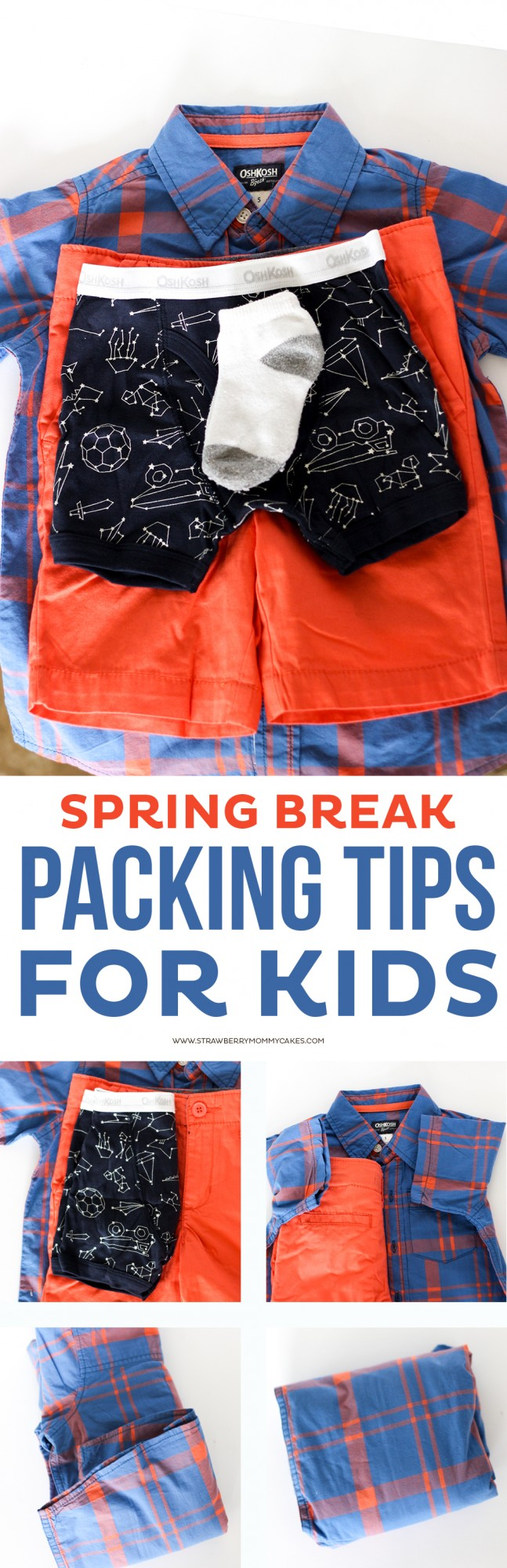 These Packing Tips for Kids will keep you organized for your Spring Break trips!