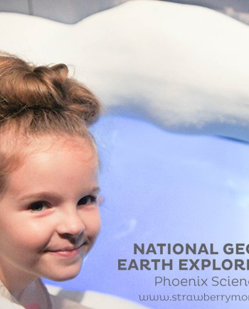 National Geographic Earth Explorers Exhibit at the Phoenix Science Center #blendedconf