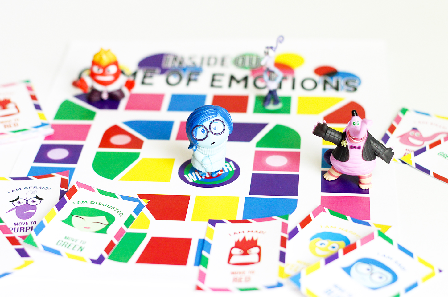 Inside Out Games Printable Inside Out Emotions Board Game