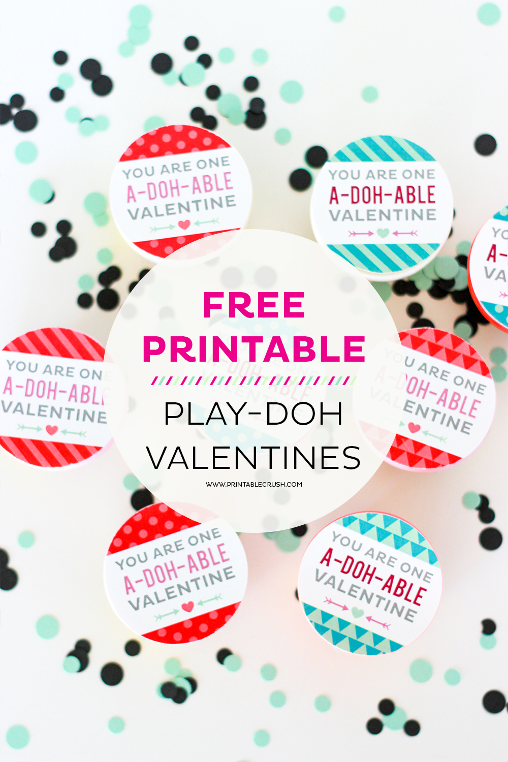 photo about Play Doh Valentine Printable called Lovely and Cost-free Engage in-doh Valentine Printables - Printable