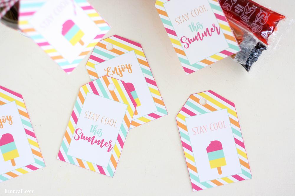 Free Printable Summer Gift Tags Printable Crush