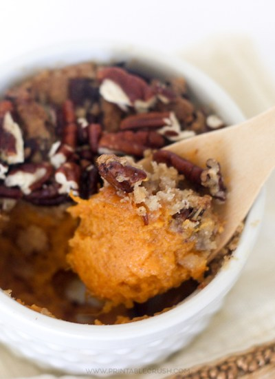 Sweet Potato Casserole is one of the BEST Thanksgiving Dishes! It's even better in Individual sizes!