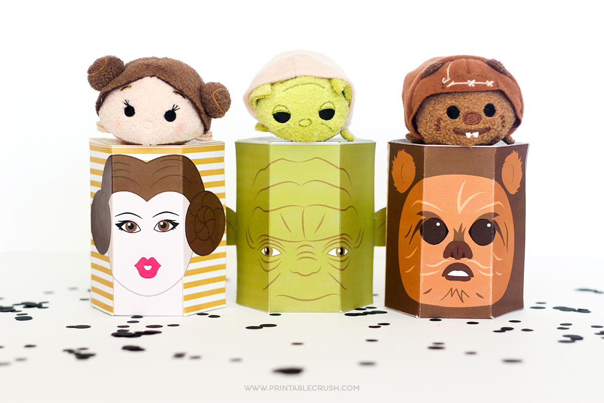 More Star Wars Free Printable T Boxes