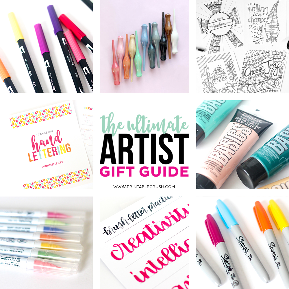 Check those items off your Christmas list in this easy to navigate Ultimate Artist Gift Guide!