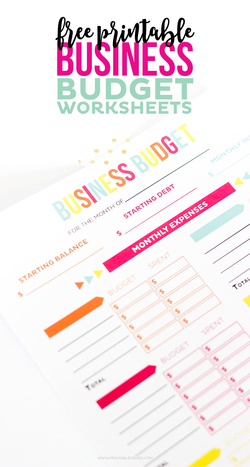 Worksheets Free Online Budget Worksheet free printable business budget worksheets crush make tax time a little less so with these includes