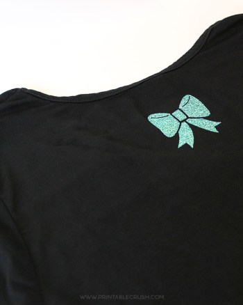 Iron-on isn't just for plain tees. Learn How to Make Personalized Shirts with Iron-On Vinyl. This Cents of Style shirt turned out great!