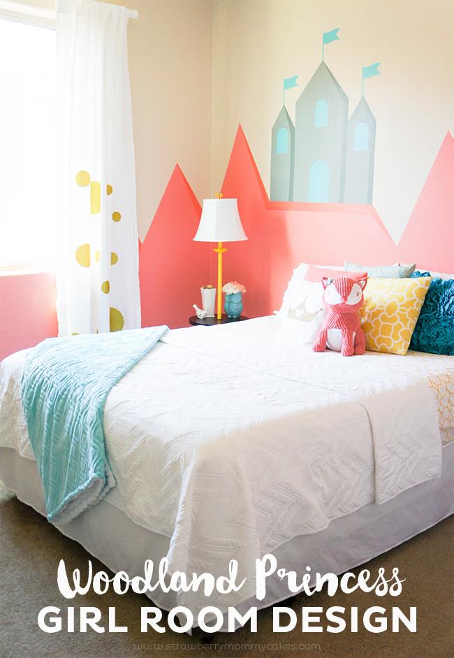 Woodland Princess Girl Room Decor