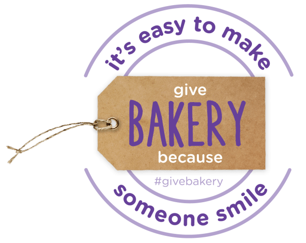 Give Bakery Because logo