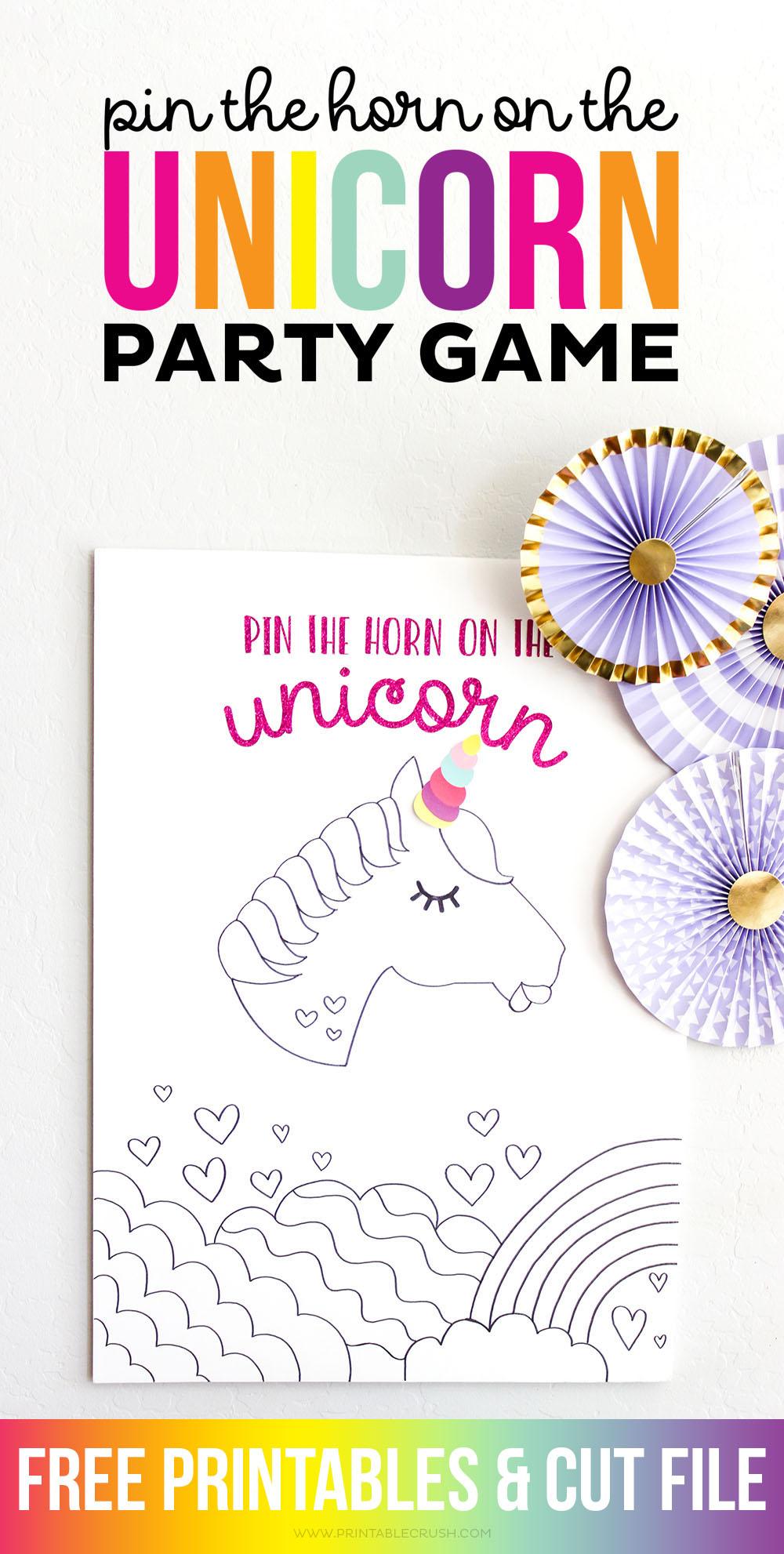 Free Printable Unicorn Horn Template Architecture Modern Idea