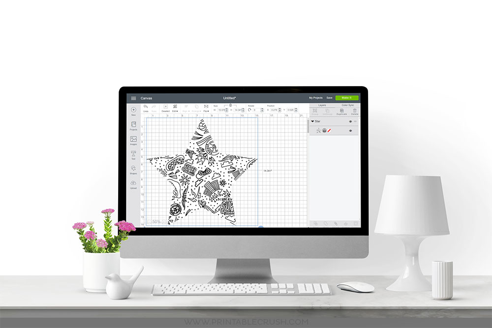 Create print and cut designs by learning how to Upload Patterns to Cricut Design Space. Use patterns on any Cricut Access project or on your own designs!