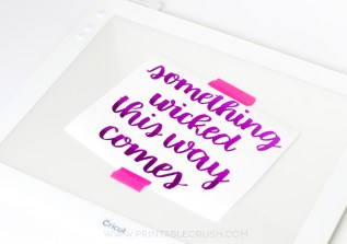 All you need is a Cricut Bright Pad, lettering pens, and a Brush Lettering Practice guide to create beautiful Hand lettered SVG Files!