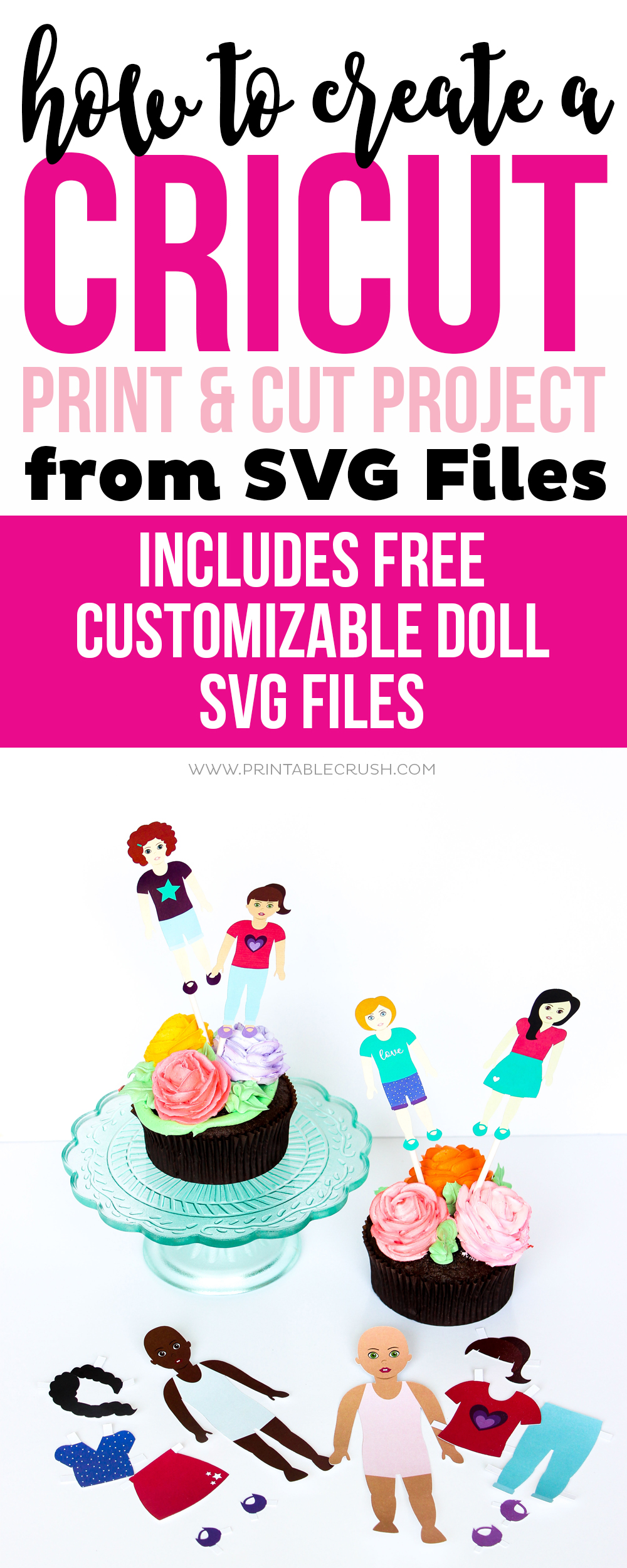 How To Create A Cricut Print Cut Project From Svg Files