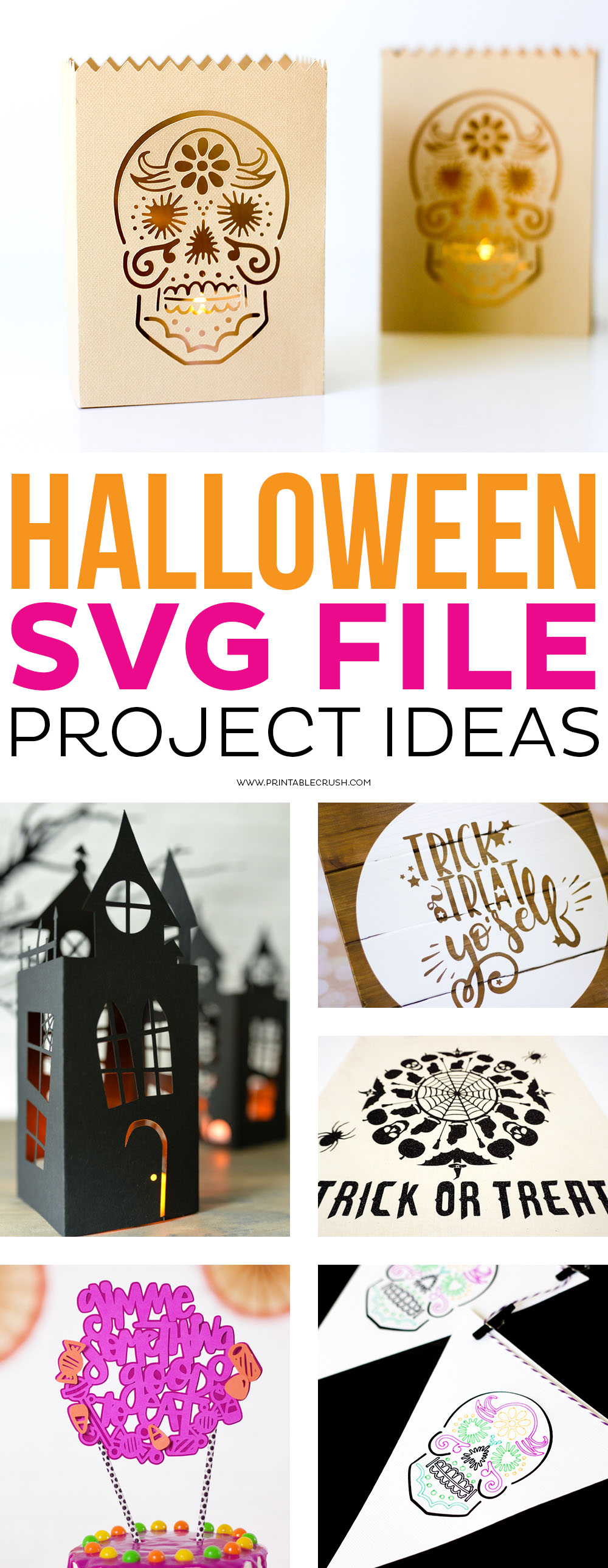 Halloween SVG File Project Ideas - Printable Crush