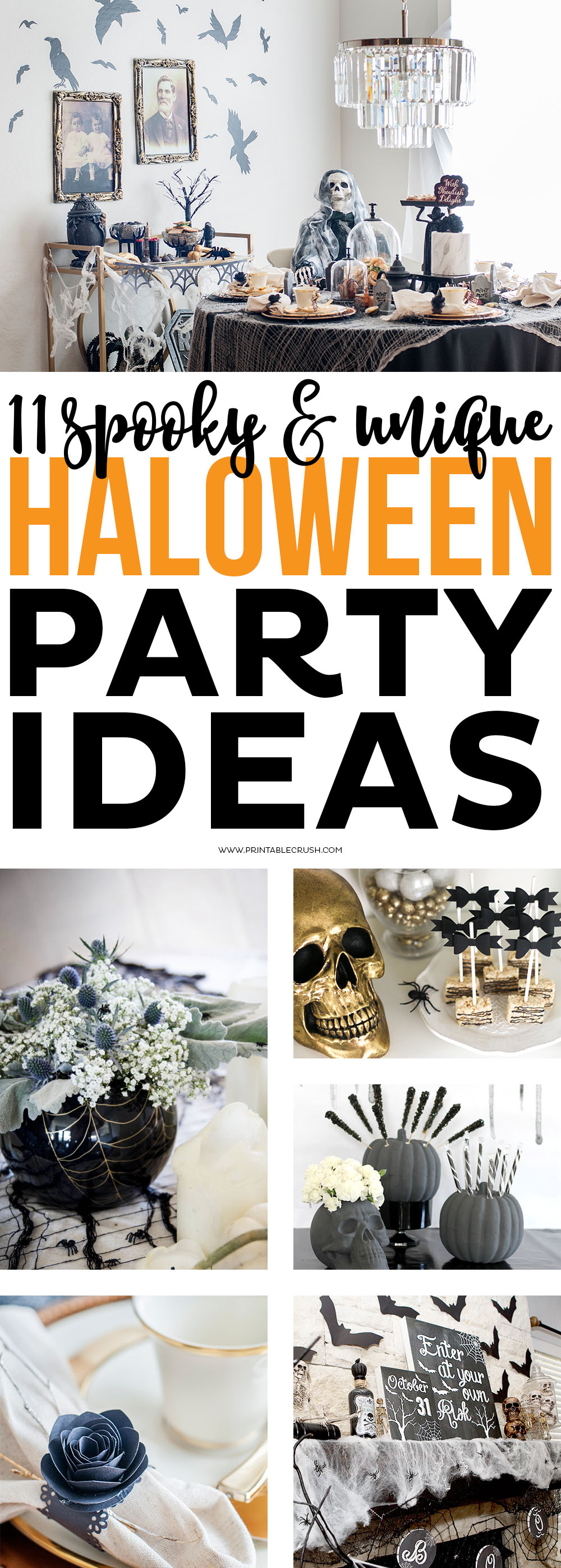 If you are planning on hosting a Halloween party this year, check out these 11 Scary & Unique Halloween Party Ideas for both kids and adults!