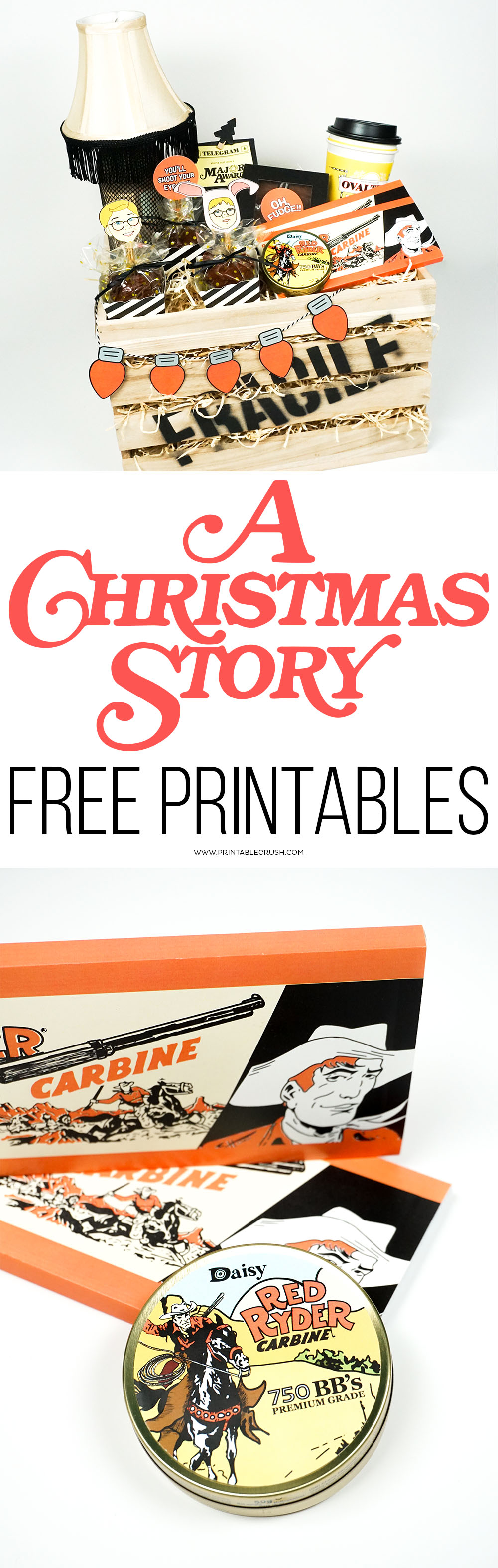 download a christmas story free printables to use at parties or for creative christmas gifts