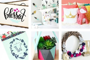 A list of the best home decor projects and ideas from Printable Crush! You'll see myoffice renovations, kid room ideas, DIY projects, and more!