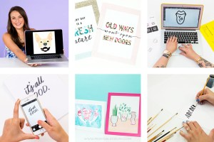 Check out these6 Awesome Brit and Co Adobe Illustrator Classes for Printable Design! If you want to design printables for profit, for classrooms, or just because, these classes will help you become a pro!