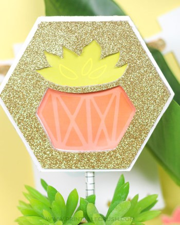 Create a Succulent Cake Topper with the Cricut Knife Blade