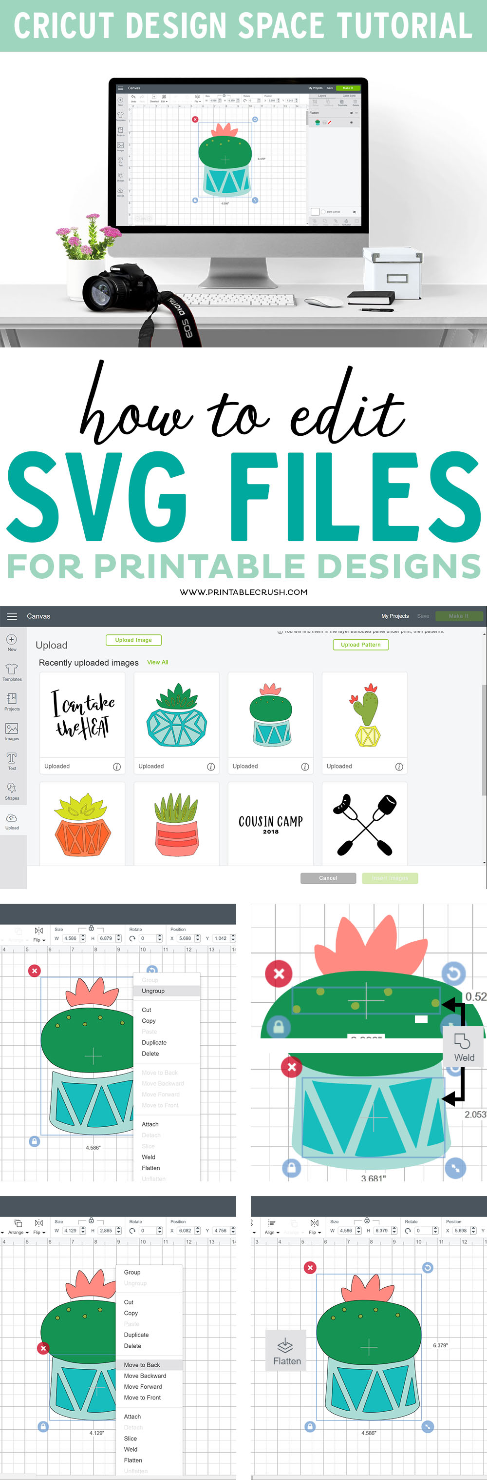 How to Edit SVG Files to use for Printable Designs
